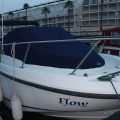 Flow boat cover